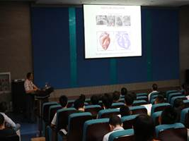 "Lecture 12: Dr. Zhongzhou Yang, ""Second heart field development and diseases"""